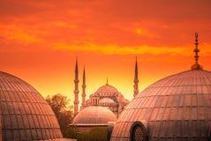 The Blue Mosque, Istanbul, Turkey. Stock Photos