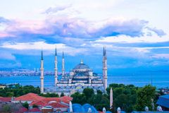 Blue Mosque in Istanbul, Turkey, Sultanahmet Royalty Free Stock Image