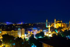 Blue Mosque in Istanbul, Turkey, Sultanahmet Royalty Free Stock Images