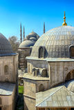 Blue Mosque in Istanbul, Turkey. Blue mosque Sultanahmet mosque view from Hagia Sophia in Istanbul, Turkey Royalty Free Stock Photo