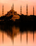The Blue Mosque, Istanbul, Turkey Royalty Free Stock Photo