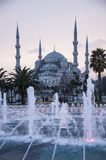 Blue mosque Istanbul. Turkey in Twilight royalty free stock photos