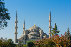 Blue Mosque on Istanbul Turkey Stock Photography