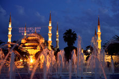 Blue Mosque Istanbul Turkey Stock Photography