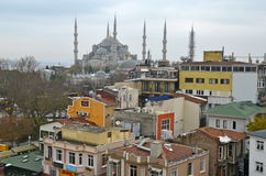 Blue mosque, Istanbul, Turkey. Royalty Free Stock Photography