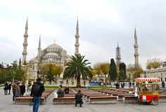 Blue mosque, Istanbul, Turkey. Royalty Free Stock Photo