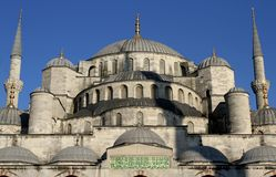 Blue mosque in Istanbul-Turkiye Stock Photography
