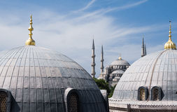 The Blue Mosque in Istanbul Stock Photos