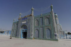 Blue Mosque in Mazar-i-Sharif Stock Images
