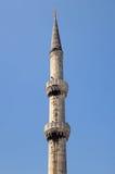 Blue Mosque Minaret Stock Photos