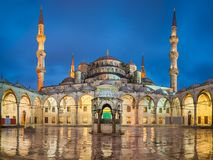 Blue Mosque in Istanbul, Turkey stock image
