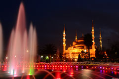 Blue Mosque. In the night - Istanbul/ Turkey Royalty Free Stock Photo