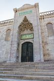 Blue mosque northern entrance, Istanbul Royalty Free Stock Photography