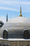 The Blue Mosque and Saint Sophie Cathedral, Istanbul, Turkey. Royalty Free Stock Images