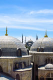 The Blue Mosque and Saint Sophie Cathedral, Istanbul, Turkey. Stock Photos
