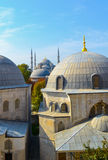 Blue mosque spying Royalty Free Stock Photos