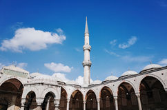 The Blue Mosque. Sultan Ahmed Mosque, Istanbul, TURKEY - October 2014 Stock Images