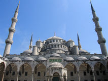 Blue Mosque Sultan Ahmed Mosque in Istanbul, Turkey Royalty Free Stock Photos