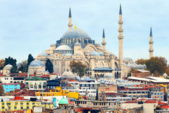 The Blue Mosque or Sultan Ahmet Cami Stock Images