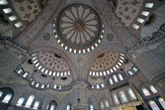 Blue Mosque (Sultan Ahmet Mosque) Royalty Free Stock Photo