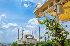 The Blue Mosque Sultanahmet Camii in Istanbul Royalty Free Stock Images