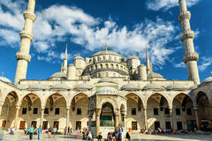 The Blue Mosque (Sultanahmet Camii), Istanbul Stock Image