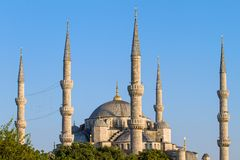 The Blue Mosque (Sultanahmet Camii) Royalty Free Stock Photography