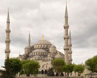 Blue Mosque (Sultanahmet Camii) in Istanbul, Turkey Royalty Free Stock Photos