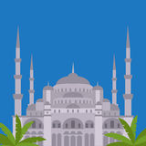 The Blue Mosque, Sultanahmet Camii, Istanbul, Turkey, middle east islamic architecture Stock Photos
