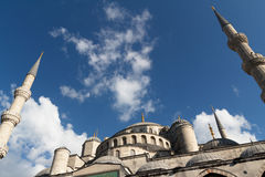 The Blue Mosque, (Sultanahmet Camii), Istanbul, Turkey. Stock Images