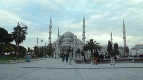 The Blue Mosque stock video footage