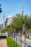 Blue Mosque (Sultanahmet Camii) in Istanbul. Stock Photography