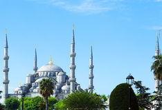 Blue mosque Sultanahmet Royalty Free Stock Photos