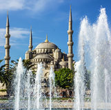 Blue mosque Sultanahmet, Istanbul, Turkey Stock Photography