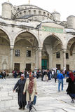 Blue Mosque in Sultanahmet in Istanbul, Turkey. Royalty Free Stock Images