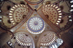 Blue Mosque or Sultanahmet Mosque Royalty Free Stock Image