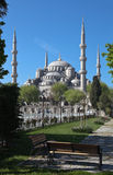 The Blue Mosque and Sultanahmet Mosque. Istanbul. Turkey. Royalty Free Stock Photos