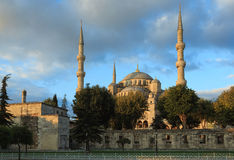 Blue mosque at sunrise, Istanbul, Turkey Stock Photography