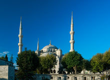 Blue mosque at sunrise, Istanbul, Turkey Royalty Free Stock Photography