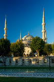 Blue mosque at sunrise, Istanbul, Turkey Royalty Free Stock Photo