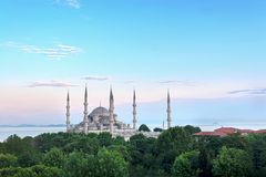 Blue Mosque, Turkey Royalty Free Stock Images