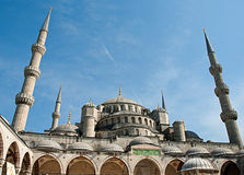 The Blue Mosque, (Turkish: Sultanahmet Camii), in Istanbul, Turkey Royalty Free Stock Photos