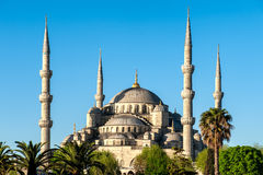 Blue Mosque view Royalty Free Stock Photography