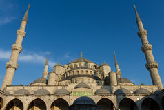 Blue Mosque - Wide Angel version Royalty Free Stock Photo