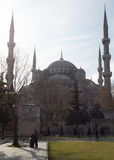 Sultan Ahmed Mosque or The Blue Mosque, Istanbul Turkey. The Blue Mosque in winter, Istanbul Stock Image
