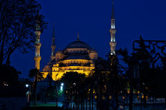 Blue mosque (Sultan Ahmed Mosque) in Istanbul Royalty Free Stock Photography