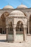 Blue Mosque Yard Stock Images