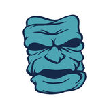 Blue moster Royalty Free Stock Images