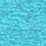 Blue mother of pearls tiles Stock Photo