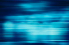 Blue motion blur abstract background Stock Photography